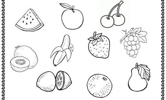 英語果物の名前fruit pics