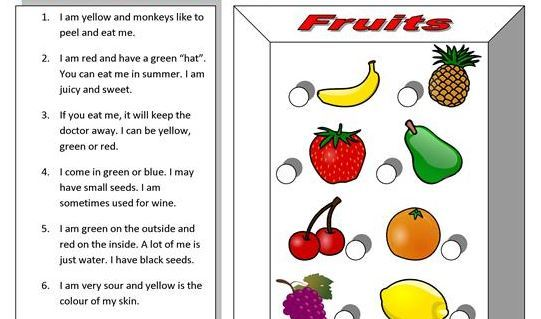 fruit riddles