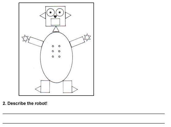 shapes robot
