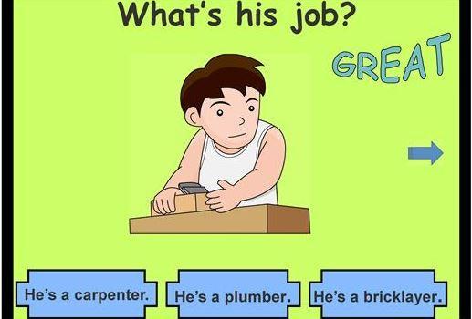 仕事の名前を表す英語パワーポイント教材jobs ppt4