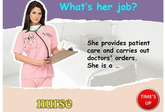 仕事の名前Who am Iパワーポイント教材jobs ppt7