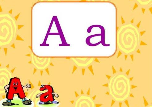 英語アルファベット大小文字指導教材the alphabet power point1