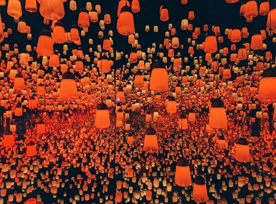 Orange Lights
