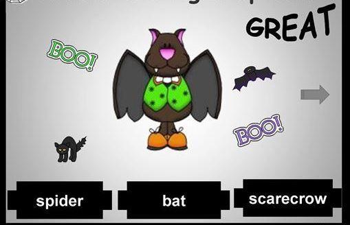 ハロウィン英単語学習Halloween quiz ppt2