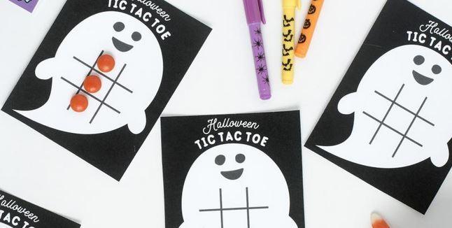 ハロウィンゲーム三目ならべhalloween tic-tac-toe