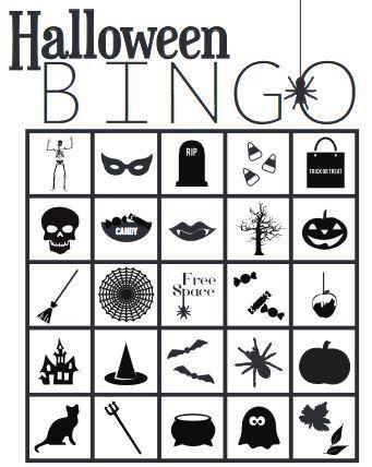 無料ハロウィンビンゴカード halloween bingo cards2