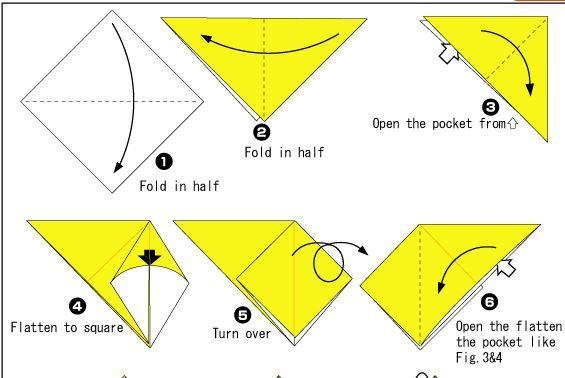 折り紙ジャック・オー・ランタン作り方origami jack o lantern