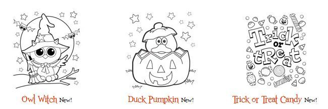 おうちでハロウィン塗り絵halloween colouring worksheet1
