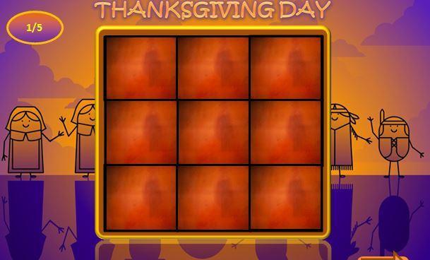 サンクスギビングデー英単語 thanksgiving ppt1