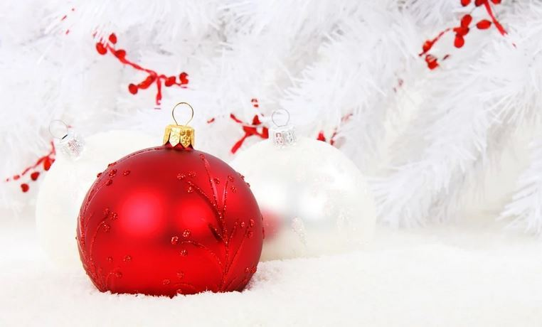 Christmas Bauble Red Ball
