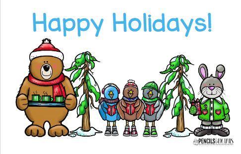 無料クリスマスカードテンプレートChristmas card colour3