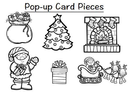 飛び出すクリスマスカードchristmas pop up card2