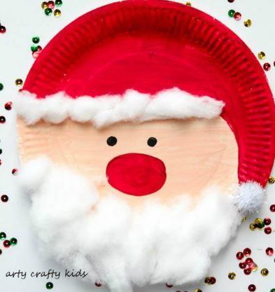 クリスマス工作サンタクロースchristmas craft santa1
