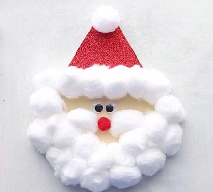 クリスマス工作サンタクロース christmas craft santa2