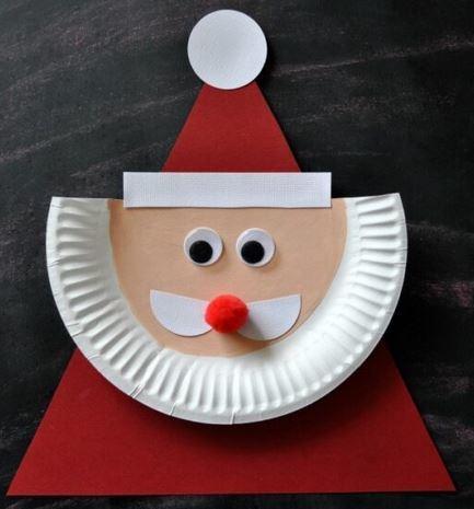 クリスマス工作サンタクロースchristmas craft santa3