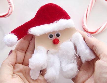 クリスマス工作サンタクロースchristmas craft santa4