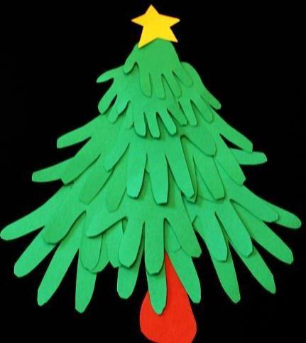 クリスマス工作クリスマスツリーchristmas craft christmas tree2