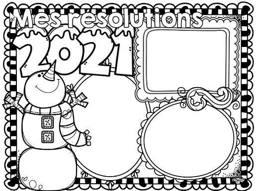 新年の抱負を英語で書こうテンプレートNew Year's resolution7