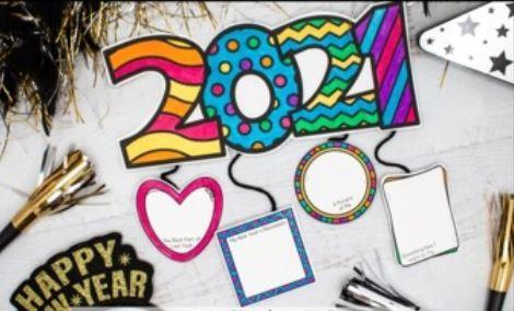 新年の抱負を英語で書こうテンプレートNew Year's resolution6