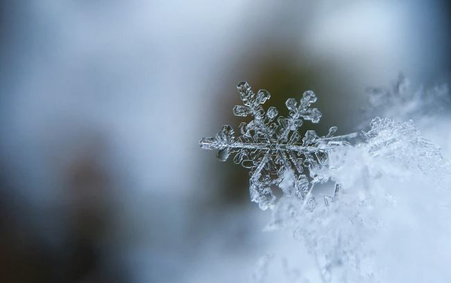cold morning in winter