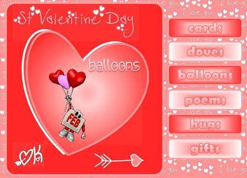 バレンタインデー英単語学習教材Valentine vocabulary ppt2