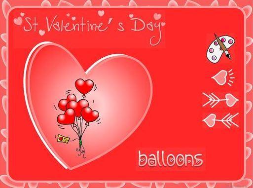 バレンタインデー英単語学習教材Valentine vocabulary ppt1