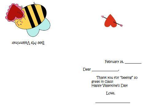 バレンタインカードテンプレートValentine's card8