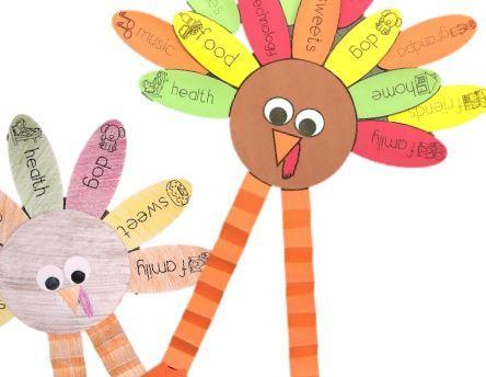 サンクスギビングデー工作ThanksgivingTurkeyCraft5