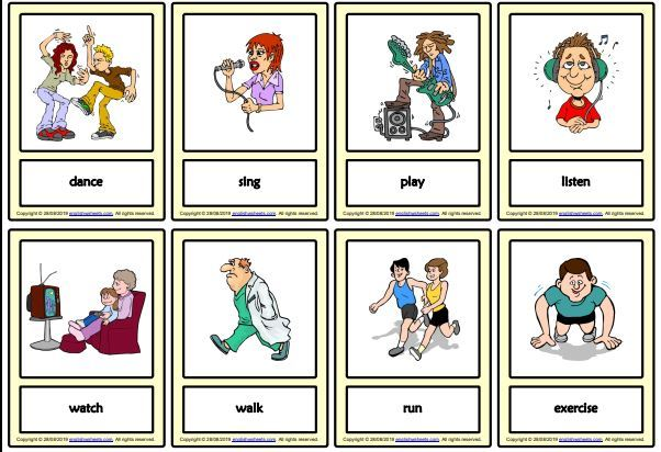 actionverbsmini-flashcards