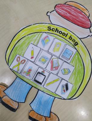 School Bag Craft1