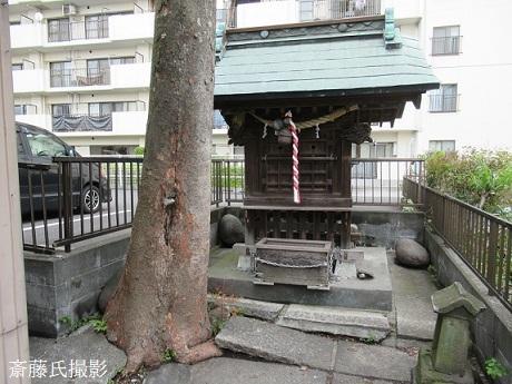 ①斎藤新発見諏訪神社