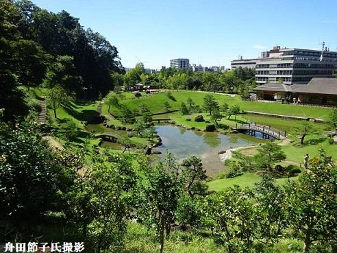 11 玉泉院丸庭園