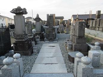 間宮家下高野墓地