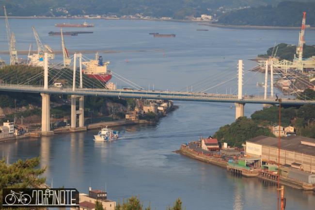 尾道大橋と百風