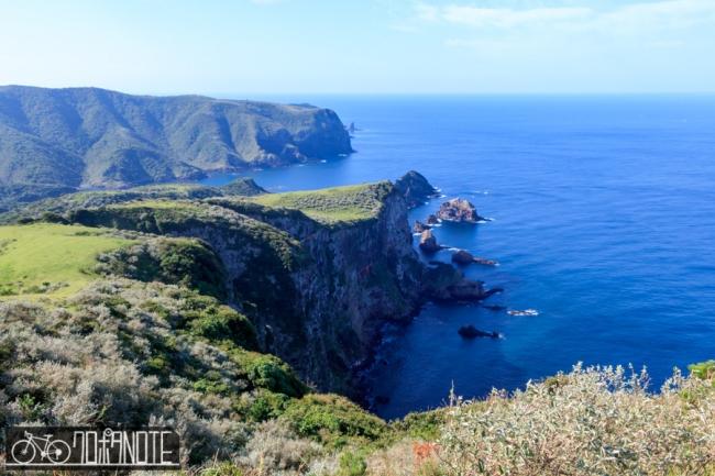 摩天崖から見た景色