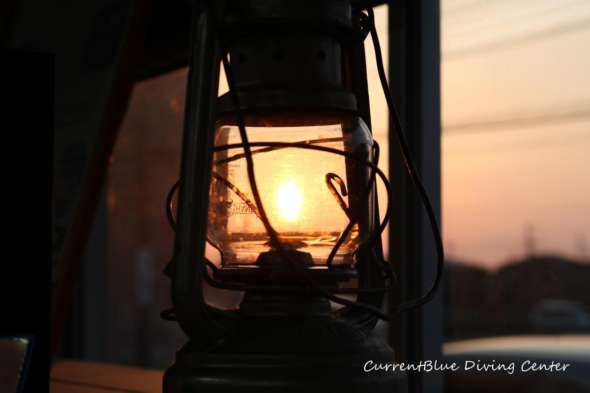 夕日夕焼けランタン・ランプ (1)