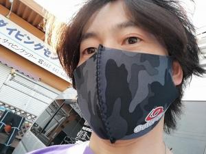 ダイビング用マスクウエットスーツマスク (2)