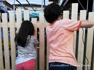 カレントブルー柵作成DIY (11)
