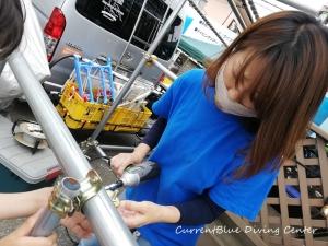 カレントブルー柵作成DIY (3)