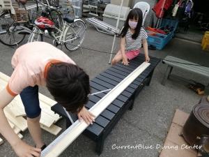 カレントブルー柵作成DIY (4)