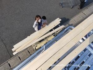 ジョイフル本田千葉ニュータウン店,木材買い出し,ガーデン,ウサギの飾り? (1)