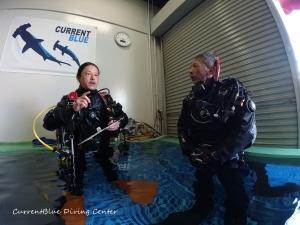 ダイビングインストラクターを目指す,PADIインストラクター試験,自社プールでダイビング練習 (4)
