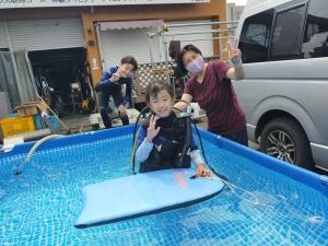 子供体験ダイビング白井印西千葉ニュータウン (2)