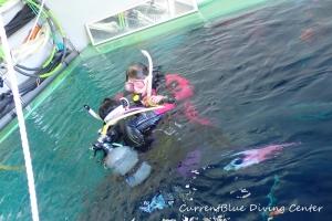救助練習ダイビング (2)
