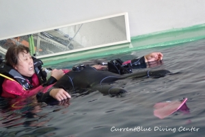 救助練習ダイビング (3)