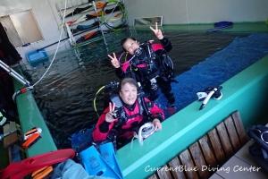 救助練習ダイビング (1)