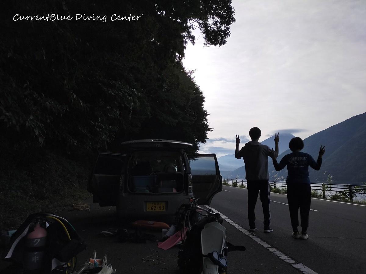 本栖湖ダイビングツアー (1)