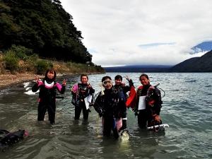 200919本栖湖ダイビング (8)