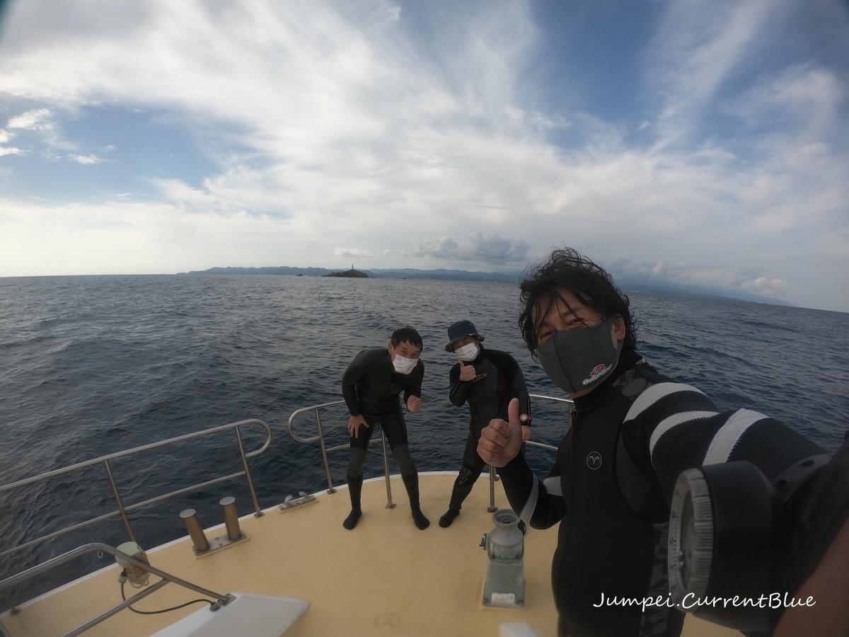 神子元ダイビングと朝焼け (7)