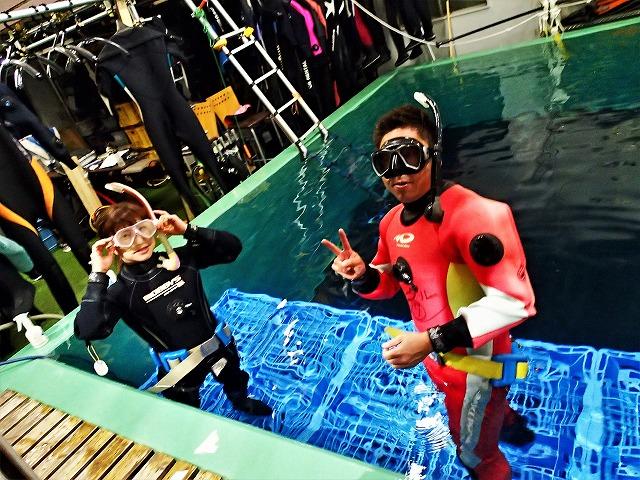 201004プール体験ダイビング